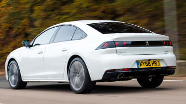 peugeot 508 tracking rear
