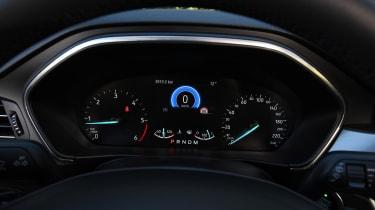Ford Focus diesel Titanium - speedo