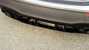 mercedes-amg a35 rear diffuser