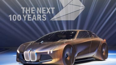 BMW Vision Next 100 front quarter
