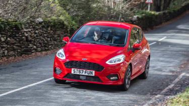 New Ford Fiesta ST-Line - front/side