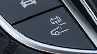 Mercedes E 300 e - hybrid button