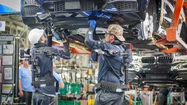 BMW SUVs feature - BMW SUV production line