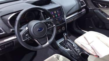 Subaru Impreza 2016 hatch interior