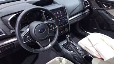 Subaru Impreza 2016 hatch interior