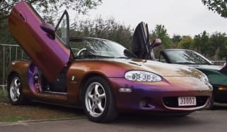 Mazda Mx-5 rally video