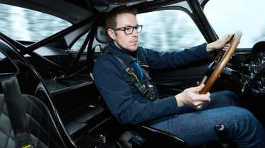 Aston Martin DB4 GT - driving