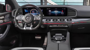 Mercedes-AMG GLE 63 S Coupe - dash