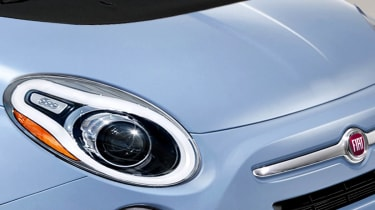 Fiat 500 2016 lights