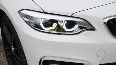 BMW 2 Series - front light