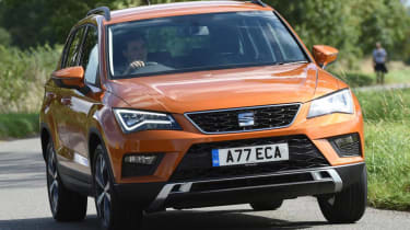 SEAT Ateca - best crossover cars and SUVs