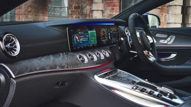 mercedes-amg gt 4-door interior