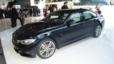 BMW 4 Sereis Gran Coupe front