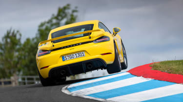 New Porsche Cayman GT4