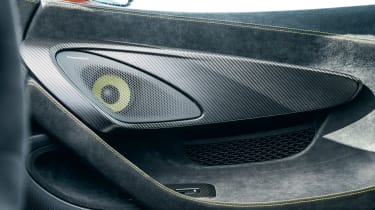 McLaren 600LT - door detail