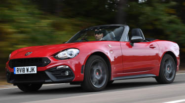 abarth 124 spider tracking