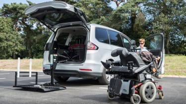 Disability driving feature - group equipment
