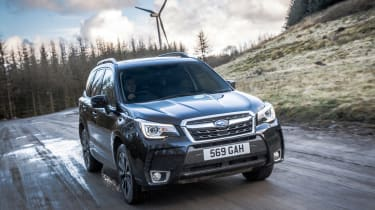 Subaru Forester XT - front action