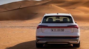 Audi e-tron rear square