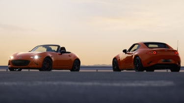 Mazda MX-5 30th Anniversary Edition - convertible and fixed roof