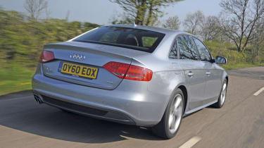 Audi A4 2.0 TDI S Line rear