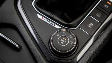 Volkswagen Tiguan Allspace - drive modes