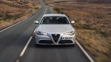 Alfa Romeo Giulia Super petrol 2017 - front end tracking 2