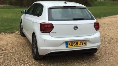 Volkswagen Polo long termer - rear