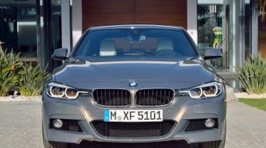 2015 BMW 3-Series facelift front close