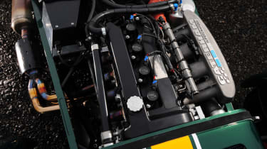 Caterham R600 engine detail