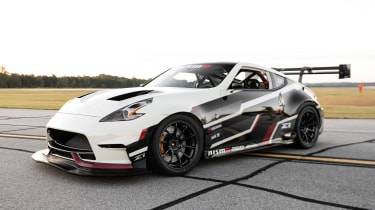 Nissan Global Time Attack TT 370Z - front