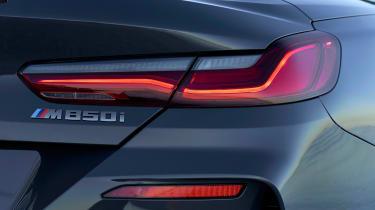 BMW 8 Series Convertible - rear light