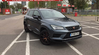 Cupra ateca long termer brands hatch front