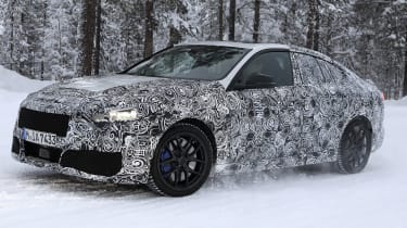 BMW 2 Series Gran Coupe spies - winter front 3/4