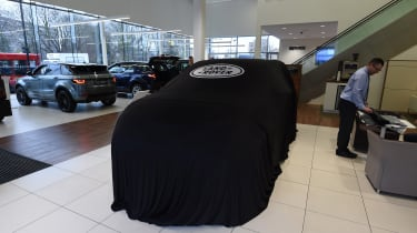 Land Rover Discovery Sport - long termer - under cover
