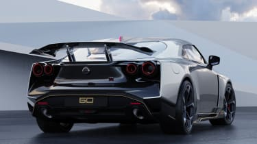 Nissan GT-R50 by Italdesign - silver rear 3/4 static