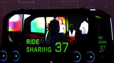Toyota e-Palette - presentation detail