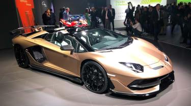 Lamborghini Aventador SVJ Roadster - Geneva front static