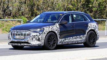 Audi e-tron S - spyshot 9