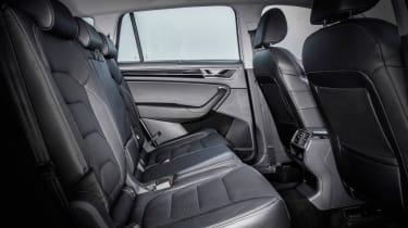 Skoda Kodiaq SUV 2016 - rear seats