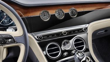 Bentley Continental GT - interior detail