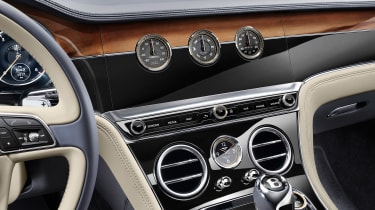 Bentley Continental GT - interior detail