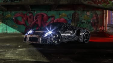 Maserati prototype - front