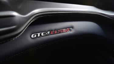 Ferrari GTC4 Lusso T - seat badge