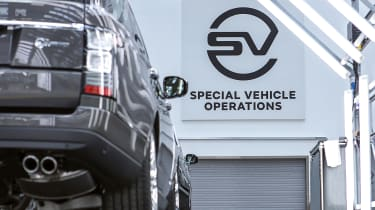 Jaguar Land Rover SVO facility - banner