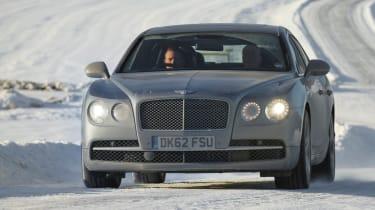 Bentley Flying Spur front cornering
