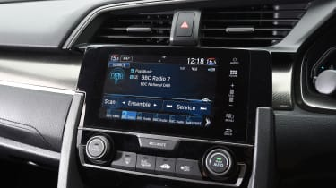 Honda Civic long-term review - Civic infotainment