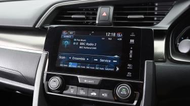 Honda Civic long-term review - Civic infotainment