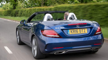 Used Mercedes SLC - rear action
