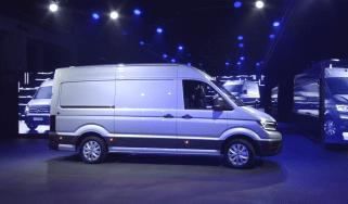 Volkswagen Crafter launch